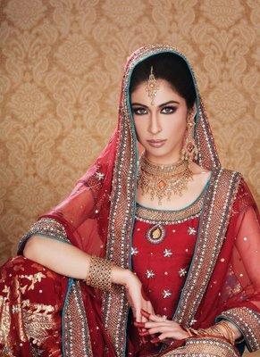 Meesha Shafi in Bridal Dress