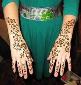 Pakistani Mehndi Designs For Women