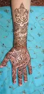 Pakistani Mehndi K Designs