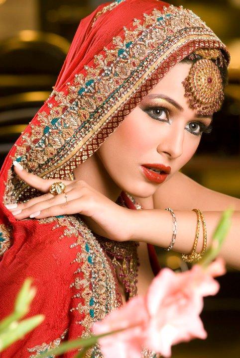 Pakistani Model Ayyan in Bridal Dress