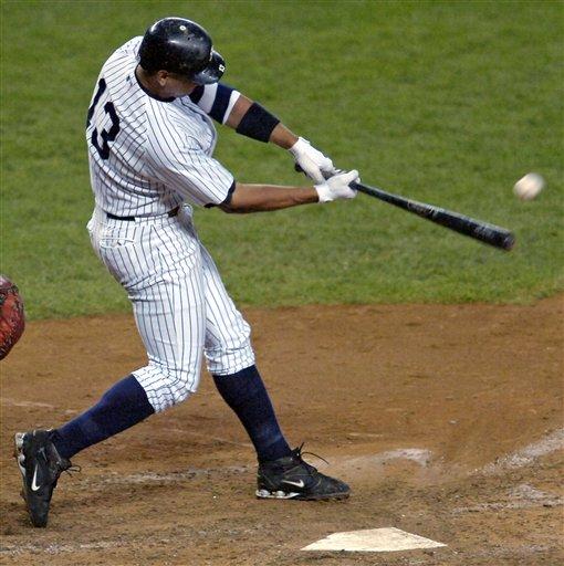 Alex Rodriguez 600th Home Run