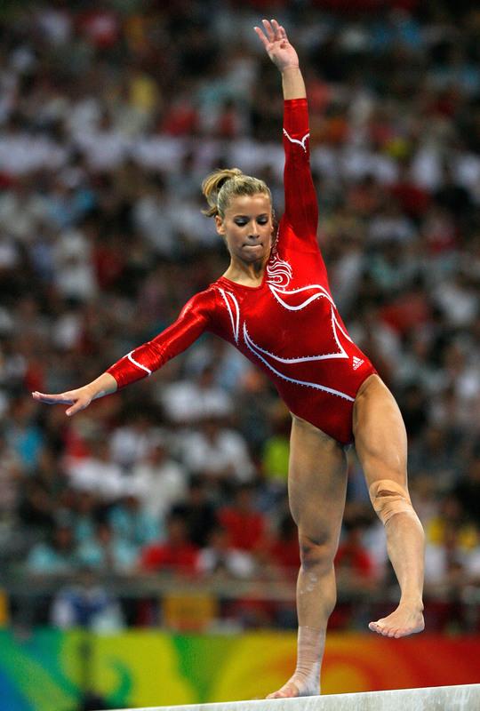 Alicia Sacramone Feet - Artistic Gymnastics