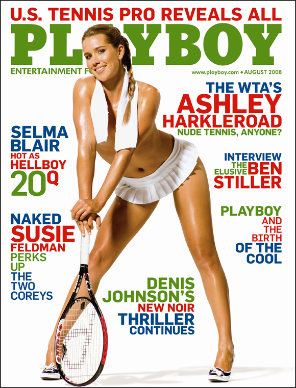 Ashley Harkleroad Playboy Magazine Poster