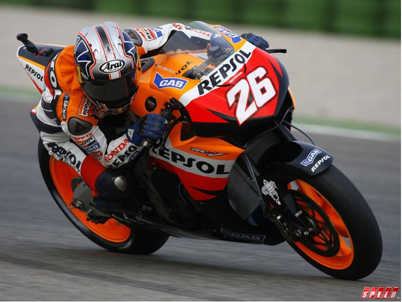 Dani Pedrosa Juara Moto GP Italian
