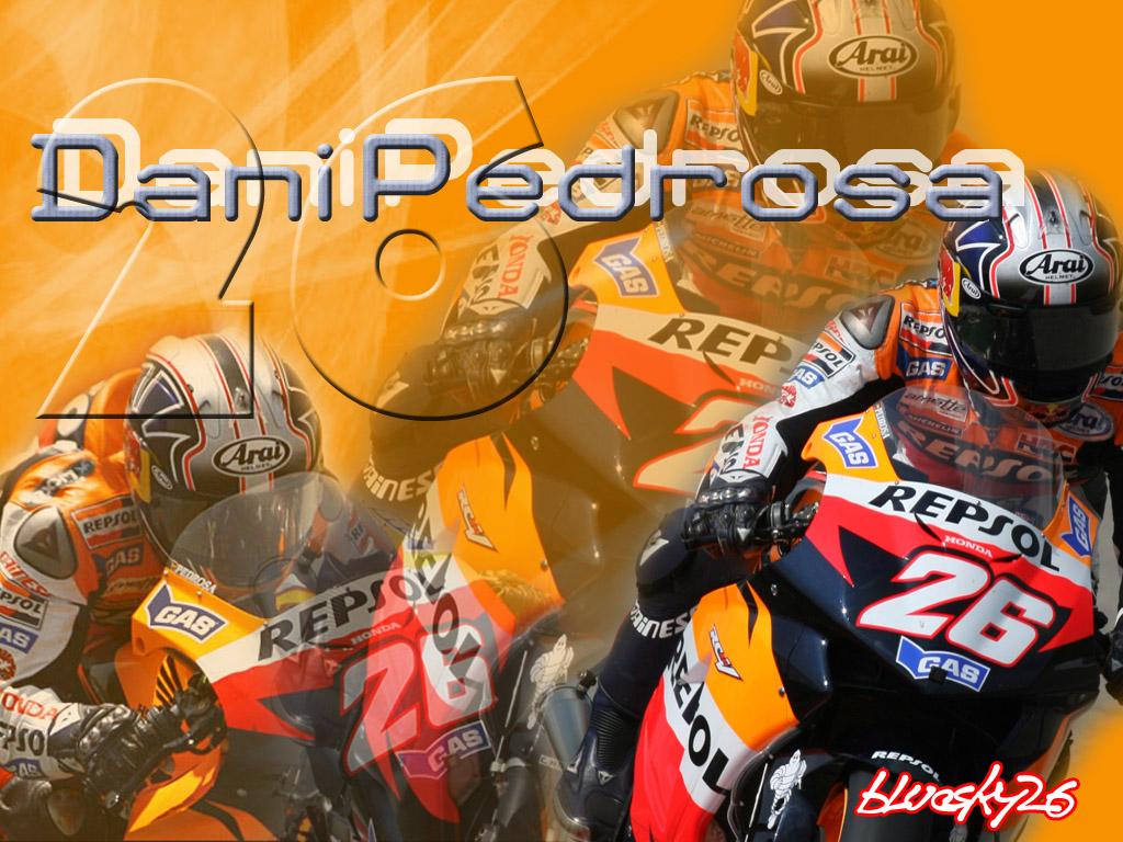 Dani Pedrosa MOTO GP Wallpaper