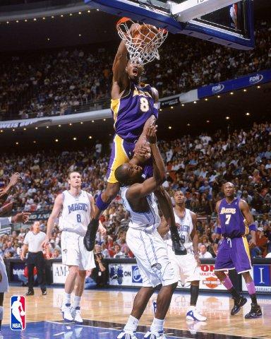 Lebron James Dunk on Kobe