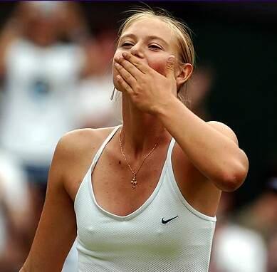 Maria Sharapova Nips