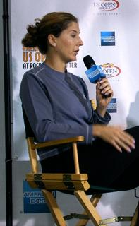 Monica Seles Interview
