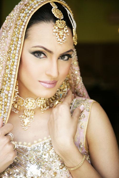 Nadia Hussain in Bridal Dress