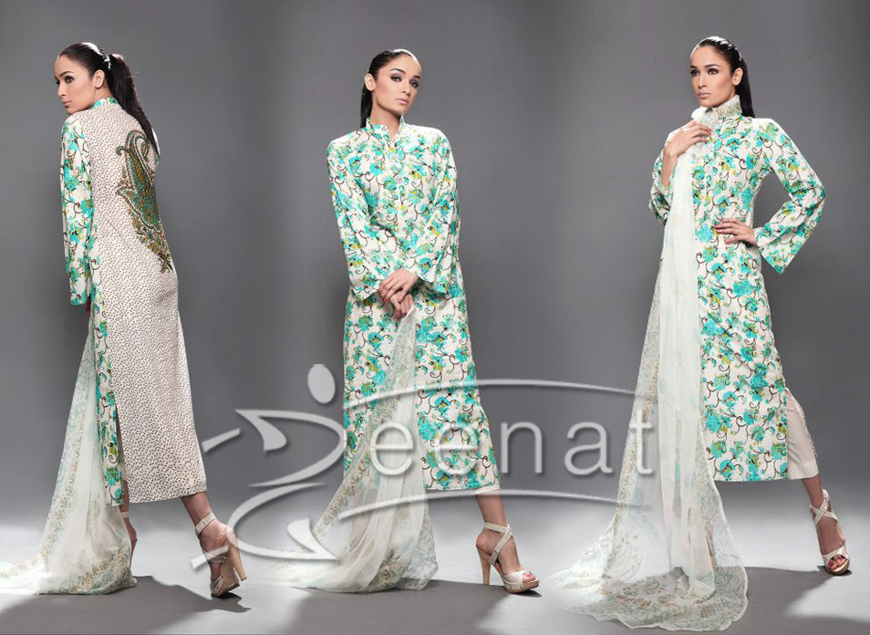 Parallel Printed A Line Dress Nisha Paul - Dress Of The Day 18th April 2012
