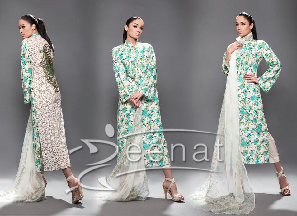 Parallel Printed A Line Dress Nisha Paul