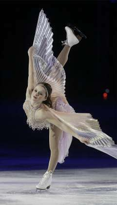 Sasha Cohen Beautiful Spiral