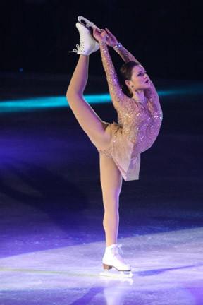 Sasha Cohen Skating