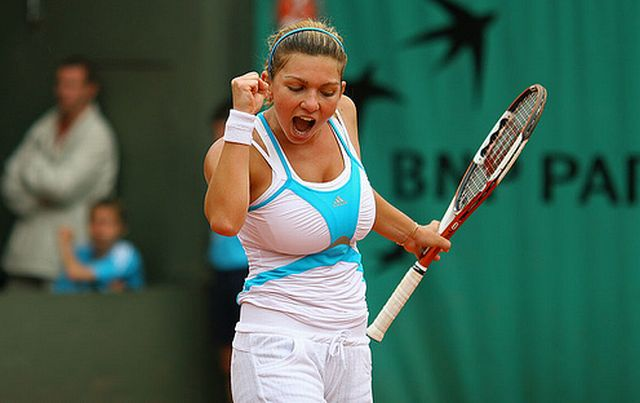 Simona Halep Hot Tennis Player