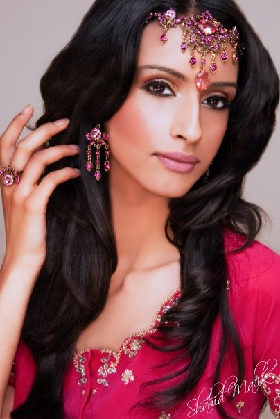 South Asian Bride Photoshoot by Shahid Malik