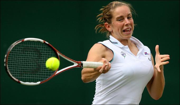 Tsvetana Pironkova Hot Tennis Picture