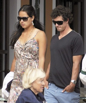 ana ivanovic with adam scott