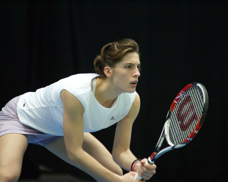Germany's Tennis Player Andrea Petkovic