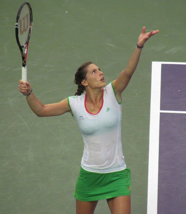 andrea petkovic so athletic