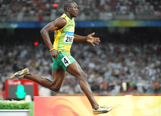 Usain Bolt in Olympics
