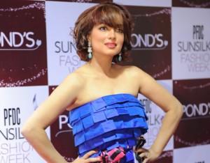 Aamina Haq at sunsilk fashion week 2012