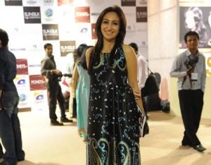 Anoushey Ashraf at Red Carpet of PFDC Fashion Week 2012
