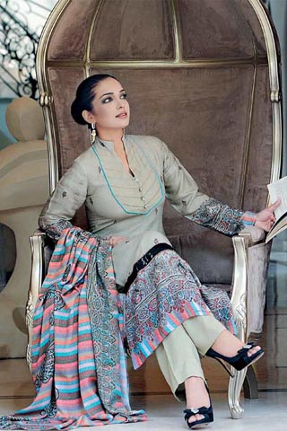 Aaminah Haq in Gul Ahmed Womenswear Collection