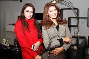 Aliha and Amina - Harness Furniture Showroom Launch