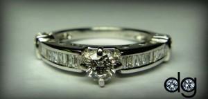 Belgium Cut Diamond Ring