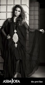 Black Dress from Asif Joffa Collection for Women