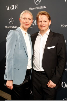 Christiane ARP Anders Sundt Jensen - VOGUE Fashion Night