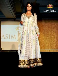 Embroidered Dress by Asim Jofa