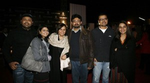 Faisal, Rizwan with Families - Mission Impossible 4 Premier