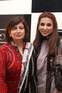 Faiza and Ayesha - Sonar Jewelers Studio Launch