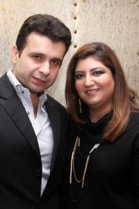 Farooq and Reimaa - Sonar Jewelers Studio Launch
