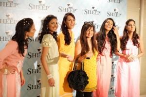 Fashion Models at Sheep Store in Karachi Launching