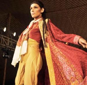 Fayza Ansari in Shamaeel Ansari Collection - UAE 40th National Day Celebration
