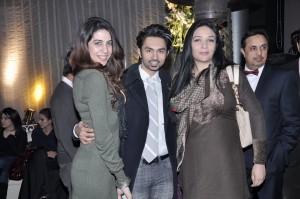 Hamza Tarar with Fashion Celebrities at Casa Hamza Relaunch