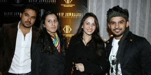Hasan, Yab, Uzma and Fahad - Mission Impossible 4 Premier