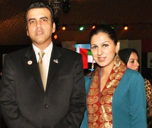 Intesar and Ayesha - UAE 40th National Day Celebration