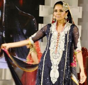 Iraj in Nomi Ansari Collection - UAE 40th National Day Celebration