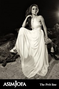 Latest White Gown from Asim Jofas Collection