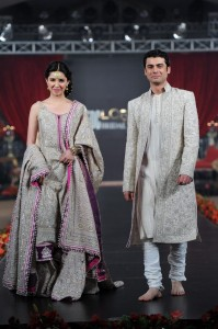 Mahira & Fawad In Umar Sayeed's Outfit