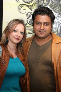 Meg and Babar - Sonar Jewelers Studio Launch