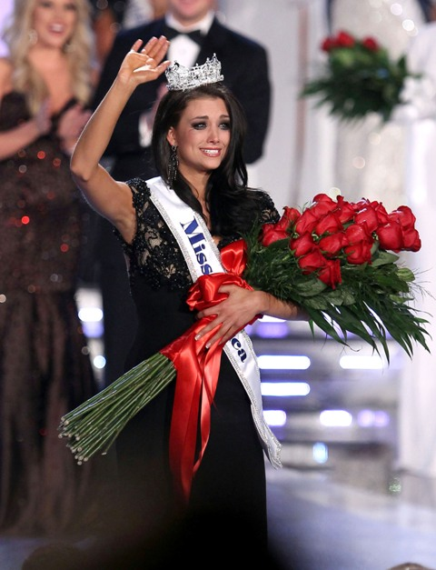Miss America 2012 is Laura Kaeppeler Miss Wisconsin