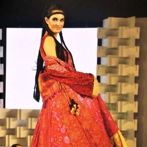 Nadia Hussain in Shamaeel Ansari Collection - UAE 40th National Day Celebration