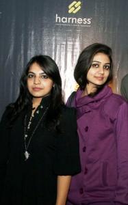 Sahar & Zarah at Harness Furniture Showroom