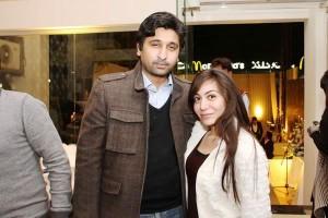 Turab and Salma - Harness Furniture Showroom Launch