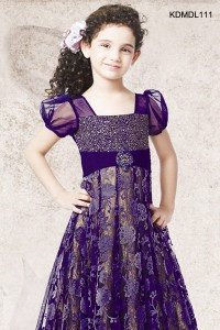 Stunning Violet Gown