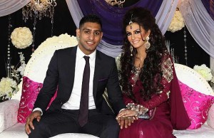 Amir Khan Boxer Engagement Pictures